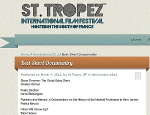 St. Tropex International Film Festival
